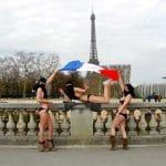 Beurettes voilées et sexy en bikini à Paris