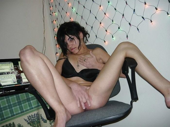 Siham, beurette de Toulouse en masturbation en webcam